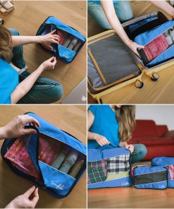Sunflake Packing Cubes Blauw