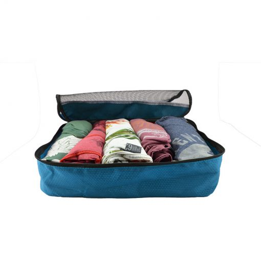 Packing cubes blauw sunflake