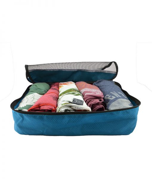 Packing cubes blauw sunflake