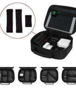 Elektronica accessoires organizer tas