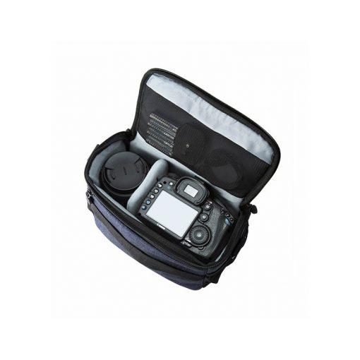 Cameratas spiegelreflex camera blauw