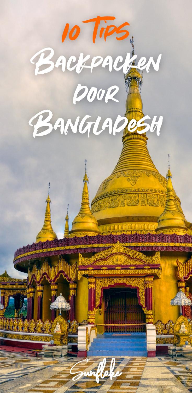 Tips backpacken Bangladesh pin