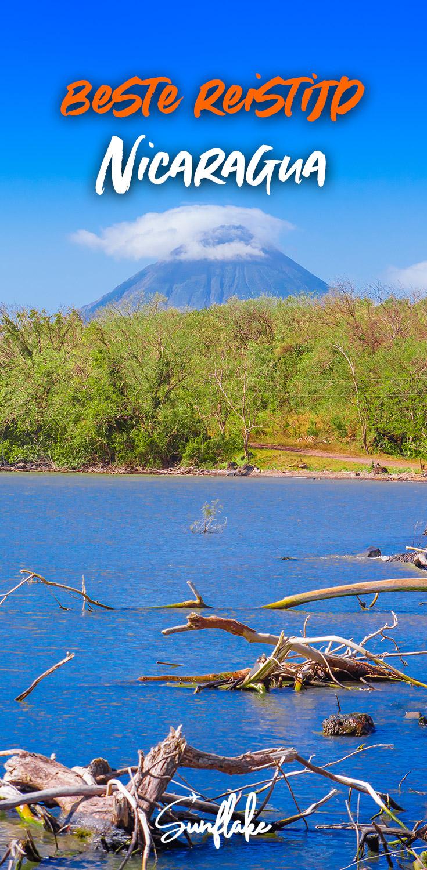 Beste Reistijd Nicaragua pin