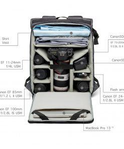 Backpack Camera Tas