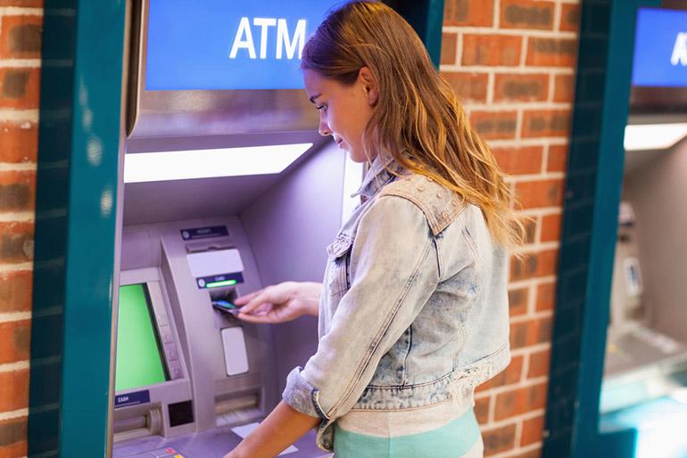 ATM in het buitenland