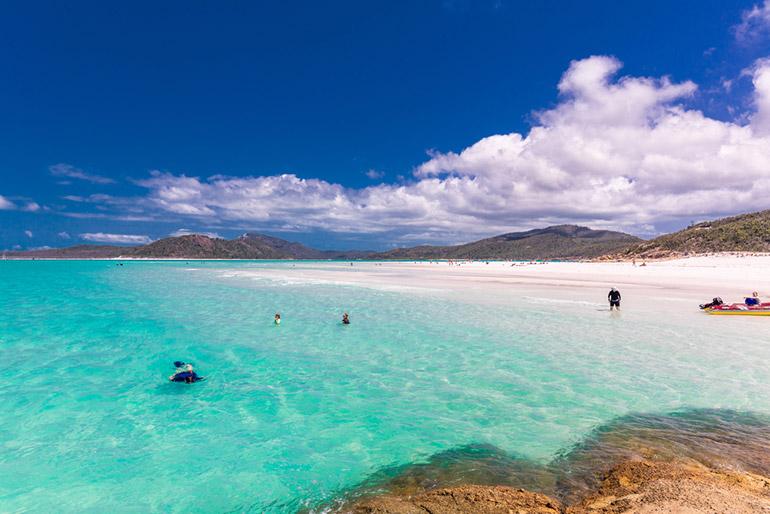 Australie strand