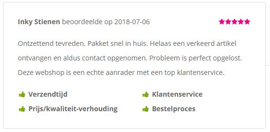 Sunflake review klantenservice