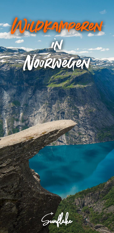 Wildkamperen Noorwegen pin