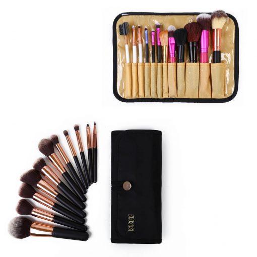 Make up tas kwasten