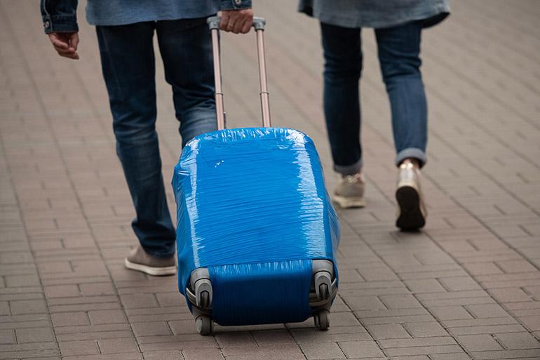 Ingesealde koffer