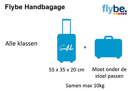 Flybe handbagage