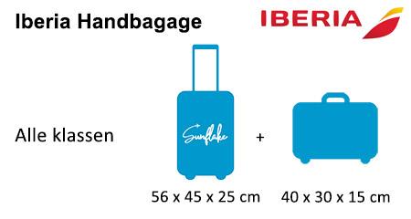 Iberia handbagage