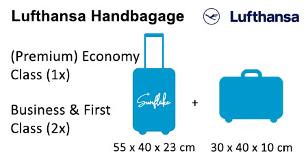 Lufthansa handbagage