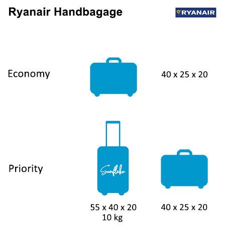 Ryanair handbagage