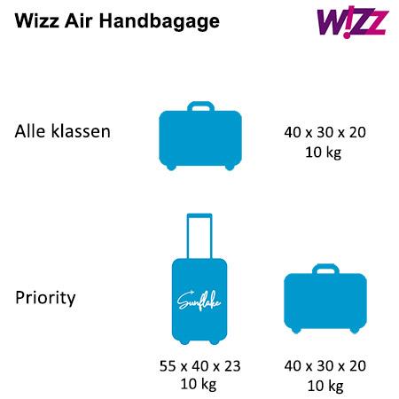 wizz air handbagage