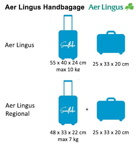 Aer lingus handbagage