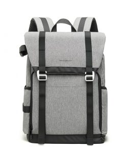 Backpack camera tas grijs