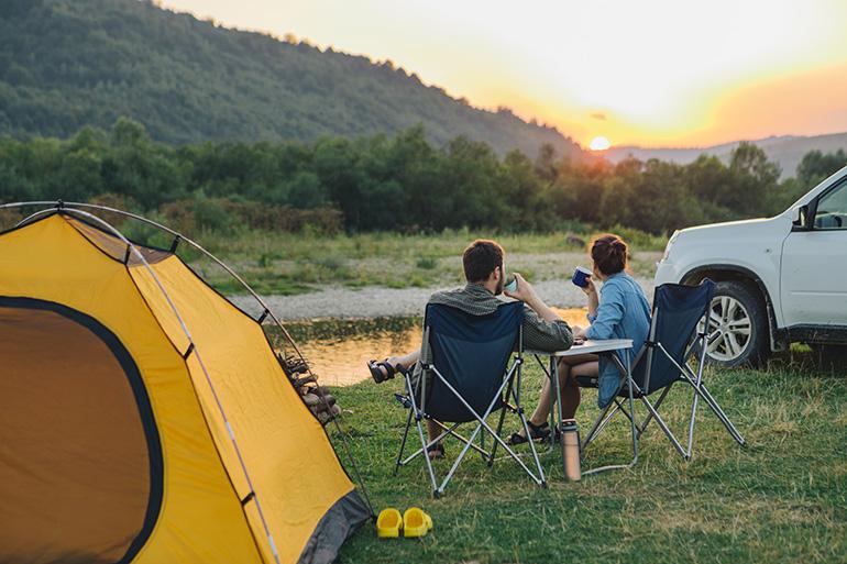 beste campingstoel